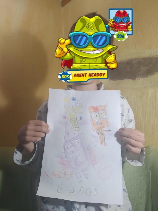 superthings drawn by xabier 6 years