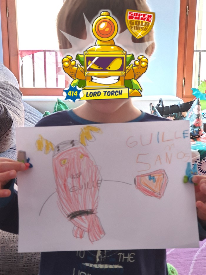 Drawing SuperThings Guille