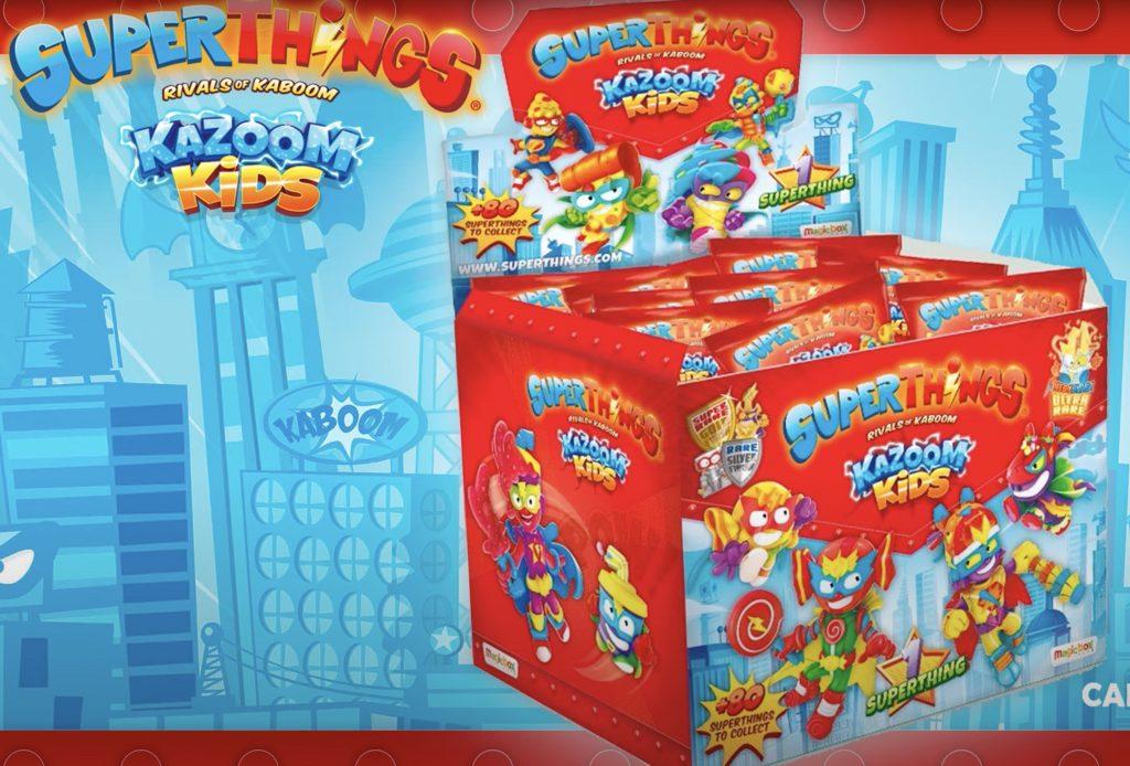 pack box de Kazoom Kids SuperThings